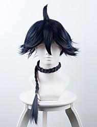 cheap -Fox Spirit Matchmaker Haku Gessho Long Braid Dark Blue Anime Cosplay Wigs Wholesale