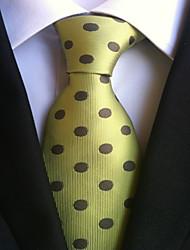 cheap -Men's Work Basic Necktie - Polka Dot