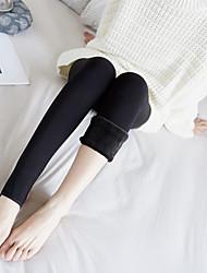 cheap -Women's Warm Pantyhose-Solid
