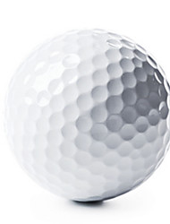 Недорогие -Стандартный мячик для гольфа Мячик для гольфа Мячик для длинных дистанций Удобный Прочный Ластик для Гольф - 2шт