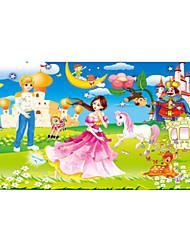 abordables -Puzzle Puzzles en bois Jouet Educatif Soleil Cheval Dessin Animé Fleur Fruit Bois Anime Dessin Animé Unisexe Cadeau