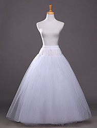 Women's Wedding / Party Slips A-Line Slip / Ball Gown Slip Floor-length Polyester / Taffeta / Tulle Bridal Petticoats White
