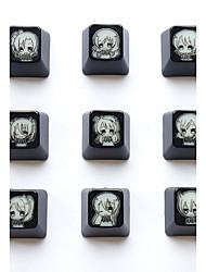 Love Live ABS Translucent Keycap 9 Keys Set for Mechanical Keyboard