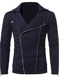 cheap -Men's Plus Size Long Sweatshirt - Solid
