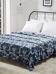 Недорогие -Супер мягкий Слова Полиэфир одеяла