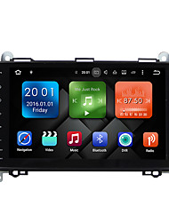 abordables -9 pulgadas quad core android 6.0.1 coche multimedia audio sistema de reproductor de gps no dvd 2gb ram construido en wifi&3g DAB ex-tv