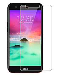 preiswerte -Hartglas High Definition (HD) 9H Härtegrad 2.5D abgerundete Ecken Vorderer Bildschirmschutz LG