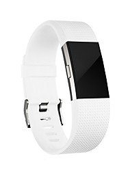 Classic Adjustable Replacement Sport Wristbands for Fitbit Charge 2-white