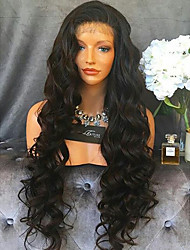 Cheap 150% Density Peruvian Lace Front Human Hair Lace Wigs 100% Peruvian Virgin Human Hair Natural Hairline 8''-22'' Lace Front Wigs with Baby Hair