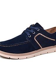 Da uomo Sneakers Suole leggere Primavera Autunno Cashmere Casual Lacci Piatto Nero Rosso Blu 5 - 7 cm