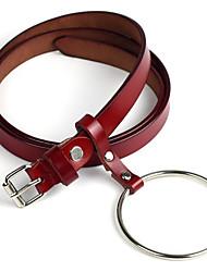 Women's Alloy Waist Belt,Simple