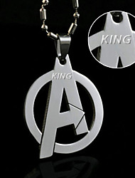 cheap -Europe and the United States film surrounding the Avengers Logo Necklace titanium jewelry