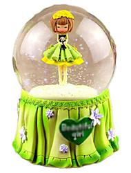 cheap -Balls Music Box Plastics Round Ship Women's Gift