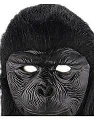 cheap -Halloween Masks Animal Mask Toys Monkey Glue Rubber Horror Pieces Unisex Halloween Gift