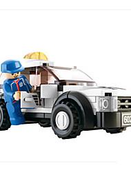 abordables -Petites Voiture / Blocs de Construction Automatique / Voiture de Course A Faire Soi-Même / Créatif Voiture de Course Garçon Cadeau