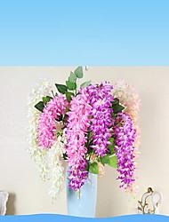 Недорогие -1 Филиал Полиэстер Другое Цветы на стену Искусственные Цветы