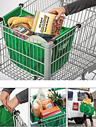 cheap -Shopping Bag Foldable Tote Reusable Large Trolley Supermarket Large Capacity Bags