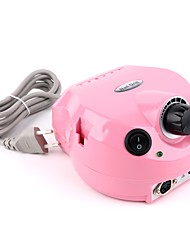 PINPAI Pink Nail Tool Grinding Machine-electric Nail File with Foot Pedal with Adjustable Speed