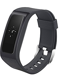 Smart Bracelet Long Standby Pedometers Heart Rate Monitor Touch Screen Anti-lost Multifunction Information Sleep Tracker Calendar