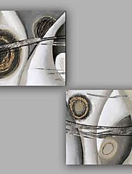 Pintados à mão Abstrato Legal Fashion 2 Painéis Tela Pintura a Óleo For Decoração para casa