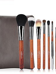 cheap -1set Makeup Brush Set Horse Others Handmade Easy Carrying Easy to Carry Wood Men Face Eye Nursing Daily Eyes Lips