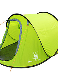 cheap -GAZELLE OUTDOORS 2 persons Tent Single Camping Tent One Room Pop up tent Waterproof Windproof Ultraviolet Resistant Foldable for Hiking