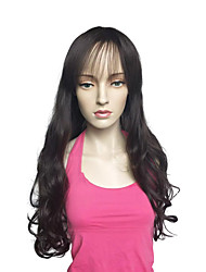 cheap -Long Deep Wave Wig Synthetic Fiber Wig Heat Resistant Hairstyle For Women
