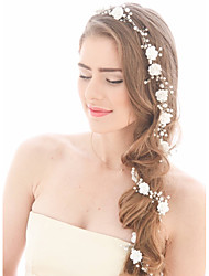 Imitation Pearl Headbands Head Chain Headpiece
