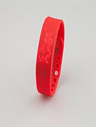 Per donna Smart watch Orologio alla moda Digitale Silicone Banda Nero Bianco Blu Rosso Arancione Verde