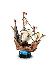 DIY KIT 3D Puzzles Jigsaw Puzzle Paper Model Toys Ship 3D DIY Furnishing Articles Not Specified Pieces