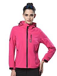 cheap -LEIBINDI Women's Hiking Jacket Outdoor Winter Keep Warm Breathable Wearproof Jacket Top Running/Jogging Camping / Hiking Climbing