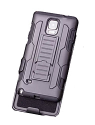 New Future Soldier Clip Triple Armor Phone Case for Samsung Galaxy Note 3/Note 4/Note 5