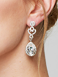 cheap -Women's Drop Earrings Earrings Fashion Elegant Bridal Costume Jewelry Imitation Diamond Alloy Drop Jewelry For Wedding Party Anniversary