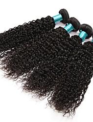 cheap -Kinky Curly Hairs 4 Bundles Brazilian Virgin Hair Extensions 400 g Brazilian Women Human Hair Texture Kinky Curly Weft