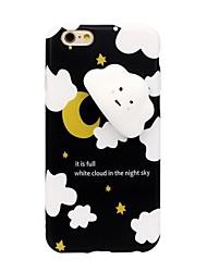 preiswerte -Für iPhone 8 iPhone 8 Plus Hüllen Cover Stoßresistent Muster Matschig Rückseitenabdeckung Hülle 3D Zeichentrick Weich Silikon für Apple