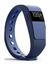 Per uomo Smart watch Orologio alla moda Digitale Silicone Banda Nero Blu Rosso Arancione Verde Viola