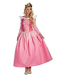 cheap -Fairytale Queen Cosplay Costume Masquerade Female Halloween Carnival Festival / Holiday Halloween Costumes Pink Vintage
