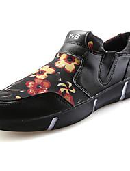 economico -Da uomo Mocassini e Slip-Ons Comoda Tulle Primavera Autunno Casual Footing Piatto Nero Bianco/nero Schermo a colori 5 - 7 cm