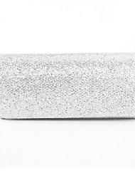 Donna Sacchetti Per tutte le stagioni Poliestere Seta Raso/Satin Borsa a tracolla Con diamantini Con applique Brillantini Nastro Di pizzo