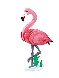 abordables -Puzzles 3D Puzzle Oiseau Animal Articles d'ameublement A Faire Soi-Même En bois Bois Classique Enfant Cadeau