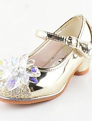 Девочки На плокой подошве Удобная обувь Оригинальная обувь Детская праздничная обувь Блестки Дерматин Осень ЗимаПовседневные Для