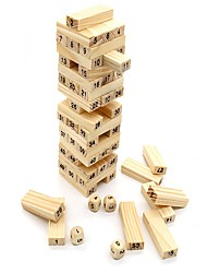 cheap -Building Blocks / Stacking Game / Stacking Tumbling Tower Balance / Large Size Classic Unisex Gift