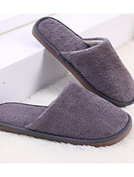 cheap -Men's Slippers House Slippers Casual Knit solid color
