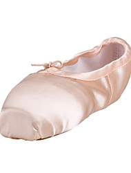 economico -Da donna Balletto Seta Suola integrale Da allenamento Piatto Rosa