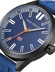cheap -MINI FOCUS Men's Sport Fashion Watches Wristwatch Luxury Waterproof Quartz Silicone Band Clock Relogio Masculino Hombre