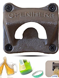 cheap -Wall-mounted Bottle Opener Beer Bottle Opener Advertising Opener Creative Beer Opener--1pcs