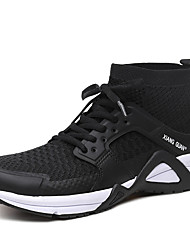 Men's Athletic Shoe Comfort Fall Winter Tulle Athletic Casual Outdoor Office & Career Work & Safety Yellow Gray Black Under 1in