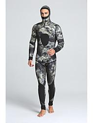 cheap -MYLEDI Men's 5mm Full Wetsuit Waterproof Thermal / Warm Wearable YKK Zipper Nylon Neoprene Diving Suit Diving Suits-Swimming Diving