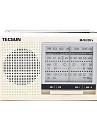R-909TV Radio portatile Radio FM Allarme sveglia Bianco