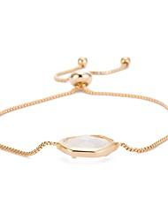 cheap -Women's Chain Bracelet Charm Bracelet Crystal Cubic Zirconia AAA Cubic Zirconia Natural Fashion Vintage Punk Statement JewelryCrystal